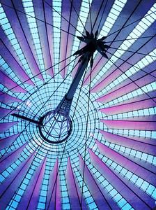 Sony Center roof. Potsdamer Platz Berlin
