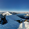 A 360 degree pano from high above Crater Lake, Oregon