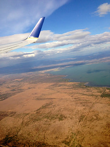Flight over Nicaragua