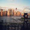 Sunrise Pano action in NYC. That's Manhattan over there:)