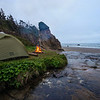 My top secret camping location on the Oregon Coast