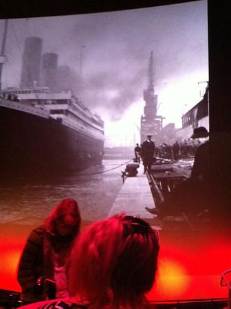 Titanic in IMAX 3D. IMAX Theatre, Waterloo London