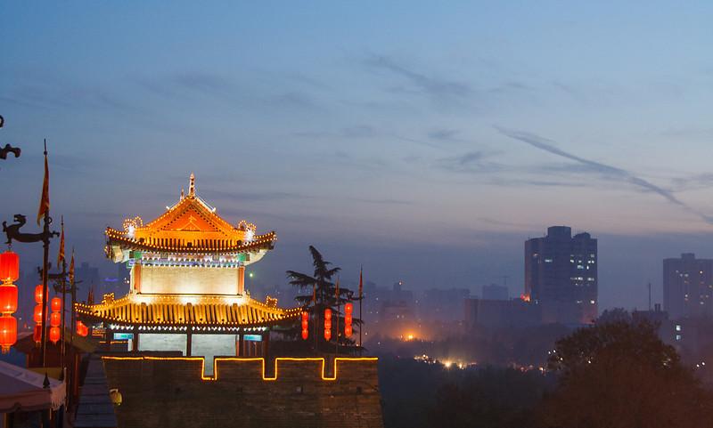Wall of Xi'an, China