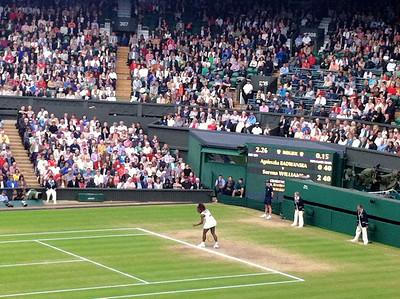 Ladies Final, Wimbledon 2012