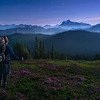 Backpacking in the Super Moon Light - Mount Baker Wilderness, Washington
