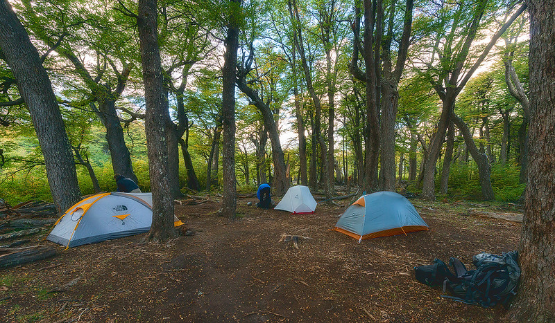 Camping in Patagonia, Argentina - March, 2015