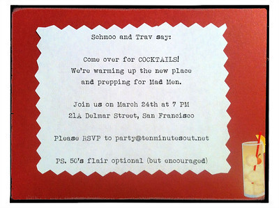 Our invitations.