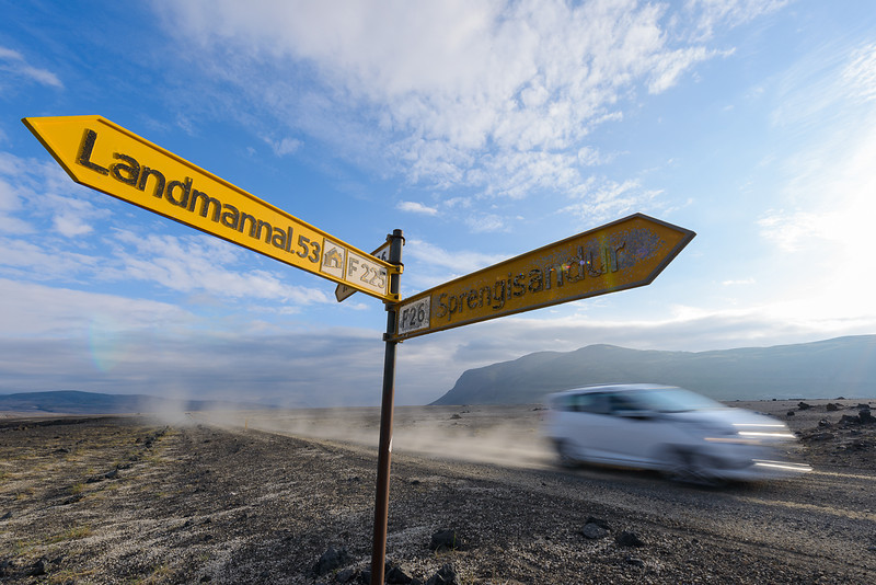 Exploring Iceland's central country
