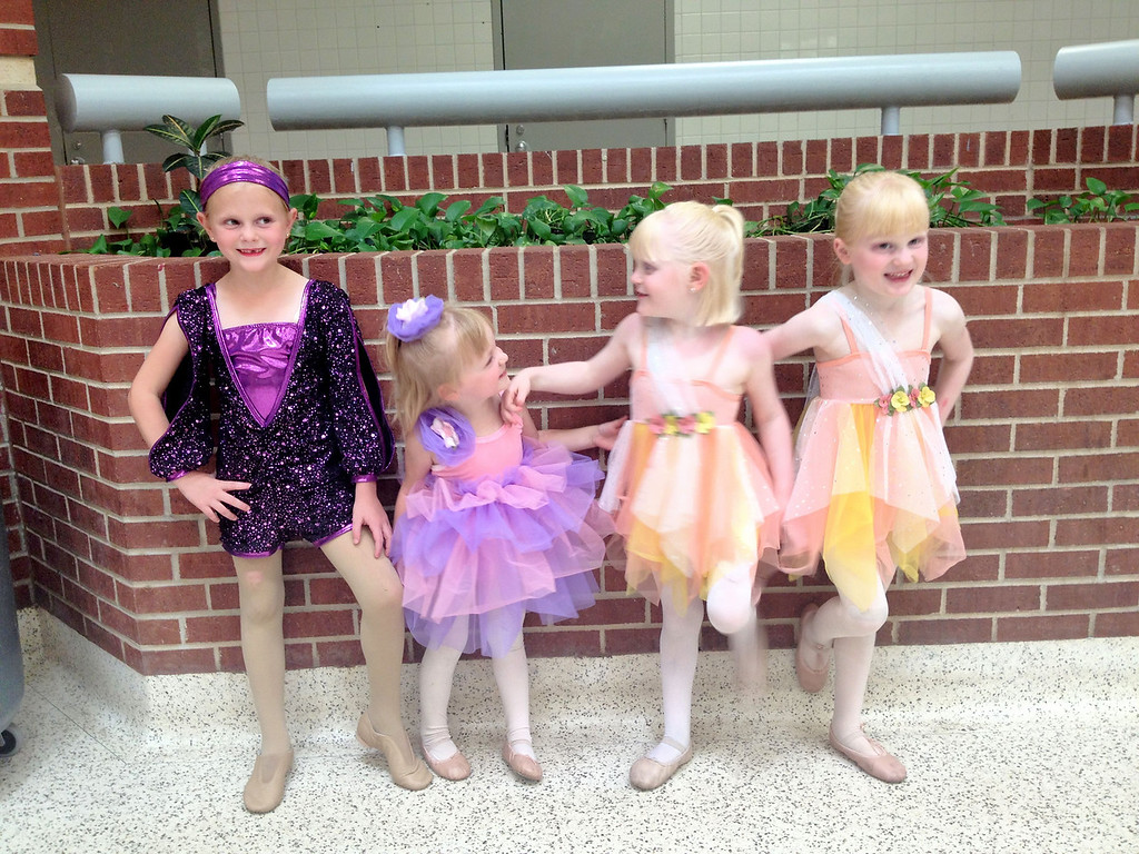 Ready for dance dress rehearsal!