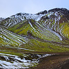 On the Road in Landmannalaugar Iceland - October 2015