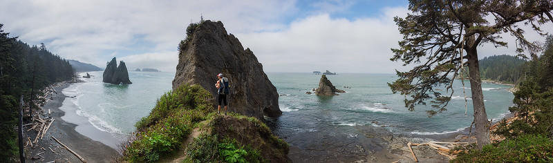 Backpacking on the Pacific Coast - Washington