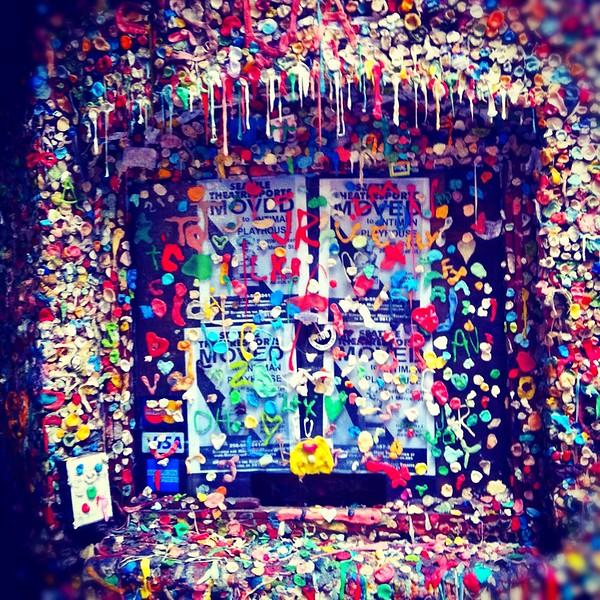 Gum Wall, Seattle