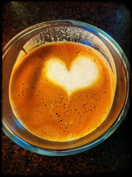 I heart coffee.