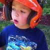 Elliot, explaining some of the rules of hitting.