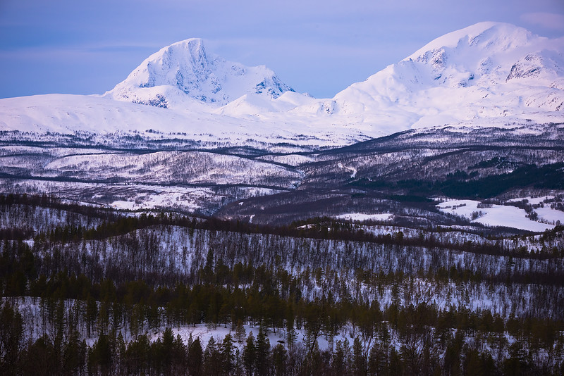 Massive Peaks in the Arctic North - Norway