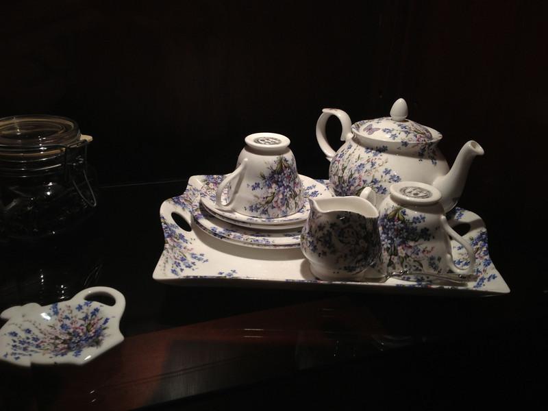 My tea set finally has a home!