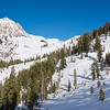 Lee Snowshoeing in Sequoia National Park, California - January 2016
