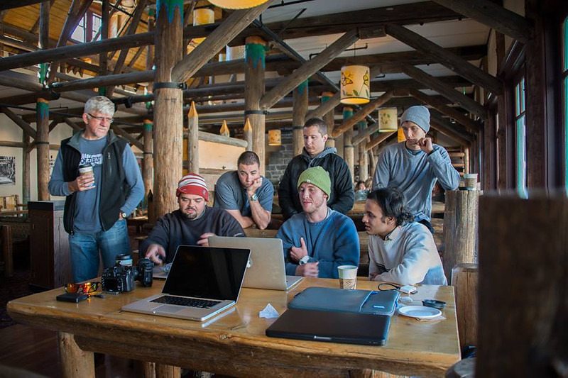"""Teaching a group of students my star photography post processing workflow at Mount Rainier National Park. <br /> <br /> Photo Credit: Kathy Vick<br />  <a href=""""http://mskathyv.smugmug.com"""">http://mskathyv.smugmug.com</a><br />  <a href=""""https://www.facebook.com/kathy.vick"""">https://www.facebook.com/kathy.vick</a>"""