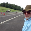 Pit lane at Cadwell Park
