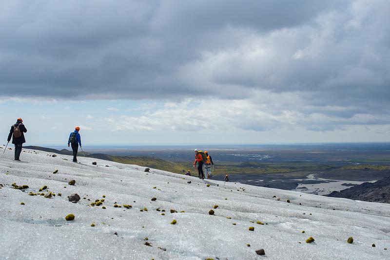 Glacier climbing - Iceland