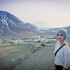 the Beautiful Meghan Kesecker at who knows what hour near Ísafjörður Iceland