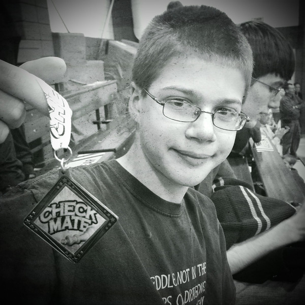 Paul 16th place at Holy Cross chess tournament  #fb