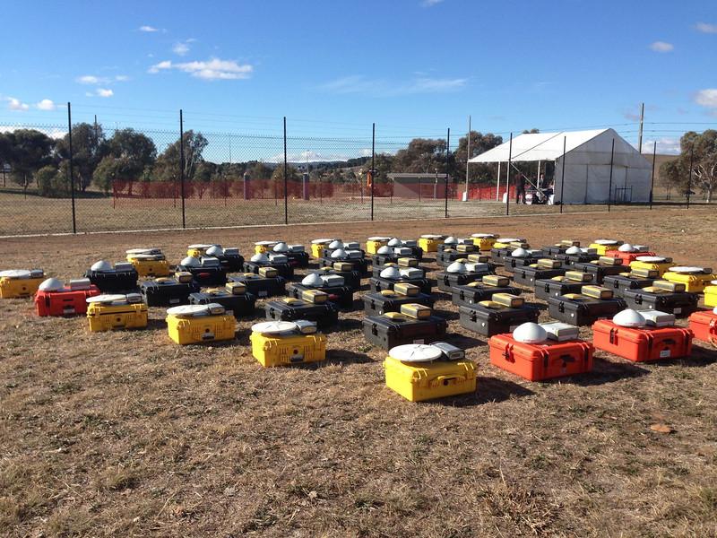50 GNSS campaign units