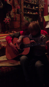 Uncle ken and Henry guitar lessons