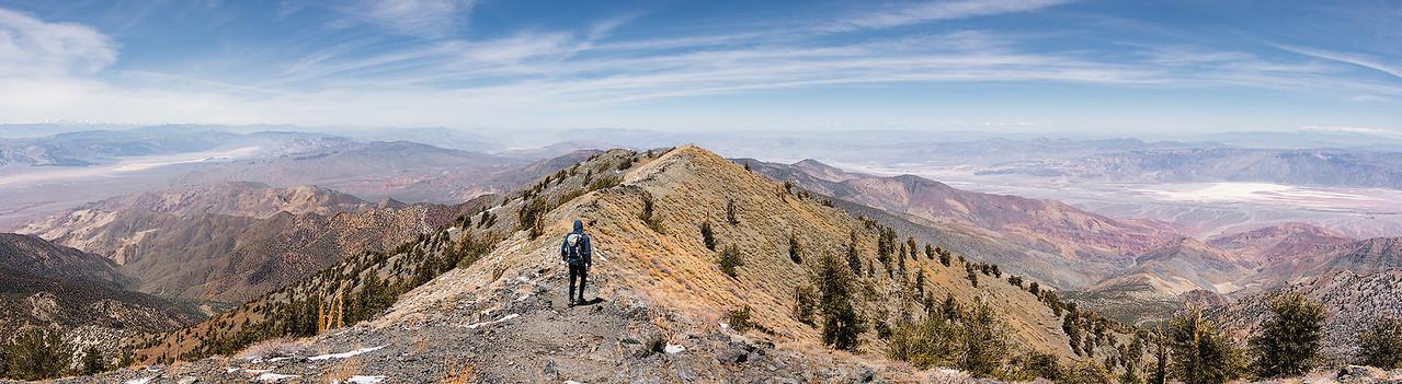 Climbing Telescope Peak - Death Valley, California