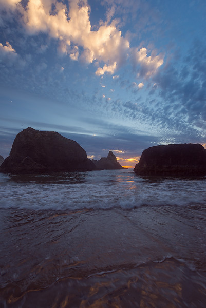 Cool clouds in Oceanside, Oregon