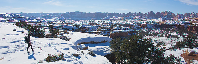 Backpacking Through the Needles District of Canyonlands National Park, Utah - January 2016