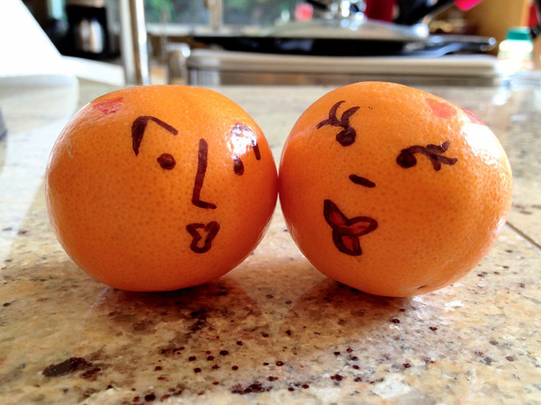 Happy little Mandarins.