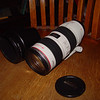 Canon 70-200 Lens, 3rd on list  This is the one that broke earlier, and I mentioned to Claudia, claim to follow.   Good as new now, except for scratches on the hood and cap.