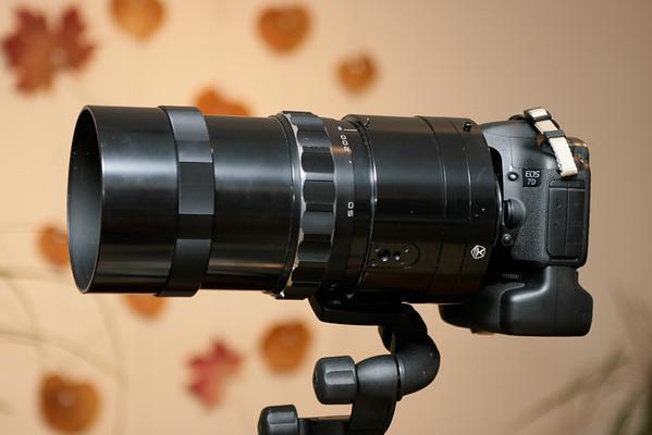 Canon 7D & MTO 1100mm f/10.5