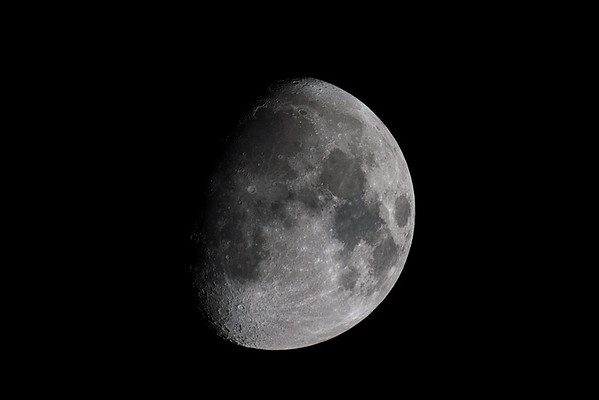 Moon by 7D & MTO 1100mm f/10.5