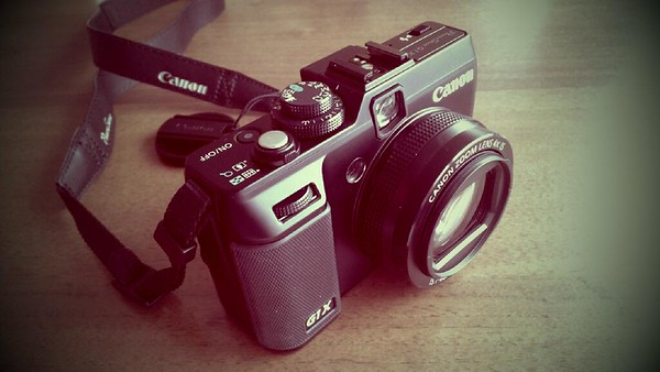 My new toy Canon G1x