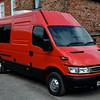 I converted this ex Parcelforce van into a camper van
