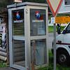 Swiss phone booth