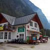 Hallstatt campsite with breakfast buffet & bar