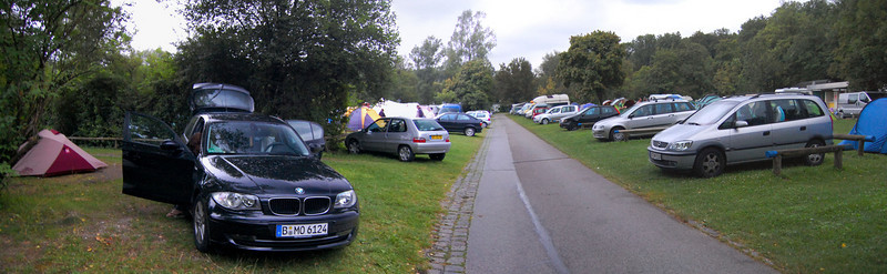Munich campsite with over 500 sites
