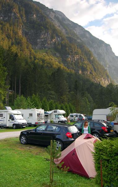 Hallstatt campsite