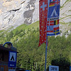 Lauterbrunnen, Switzerland campsite entrance