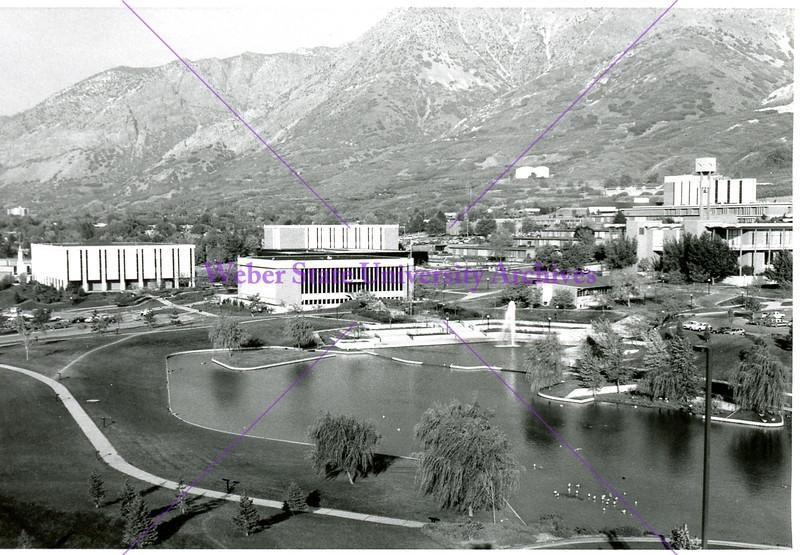 campus shot, 1984-1985