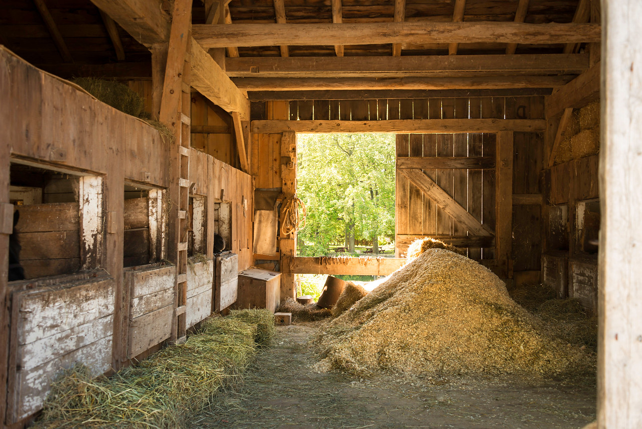HDR Horse Barn, Upper Canada Village, Ontario