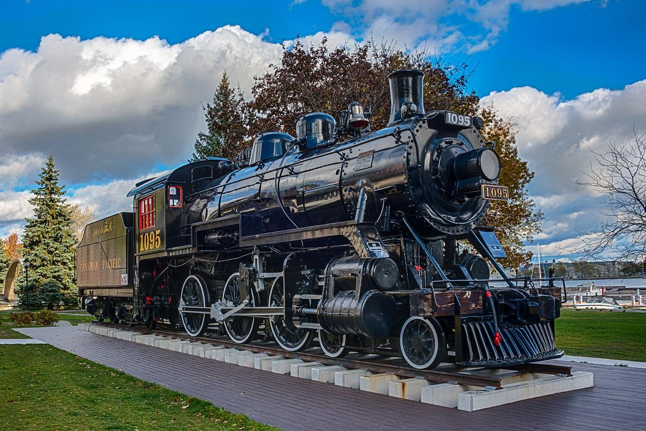 Engine #1095, Canadian Pacific Railroad, Kingston, Ontario