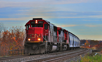 Canadian National #377, Dorion, Qc