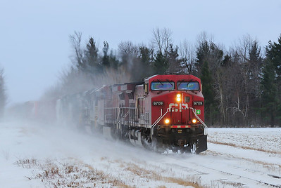 Canadian Pacific, Combined  D&H #609/NS #931, Lacolle Qc