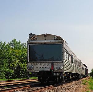 Canadian Pacific Tec Train St Jean Qc August 11 2014.