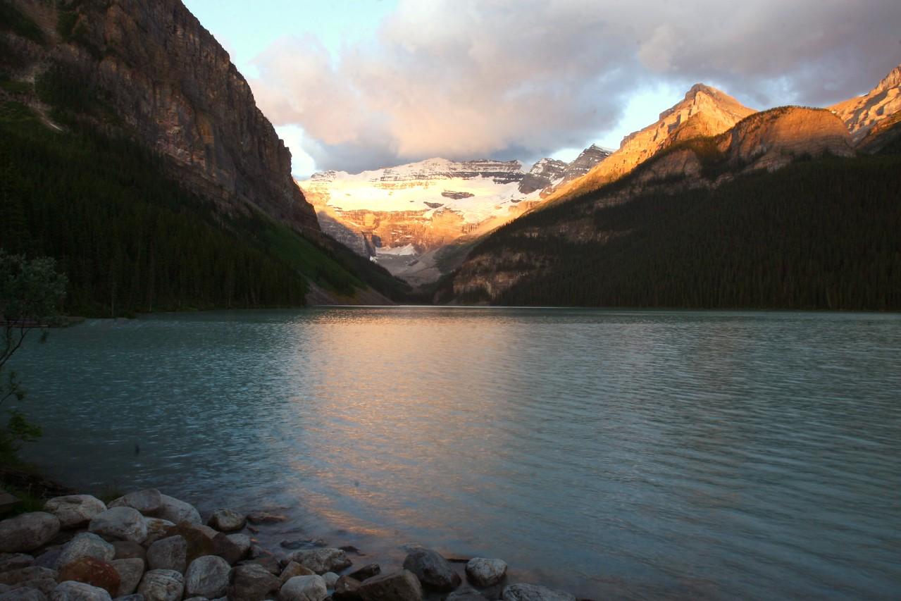 Lake Louise at Sunrise Alberta, Canada