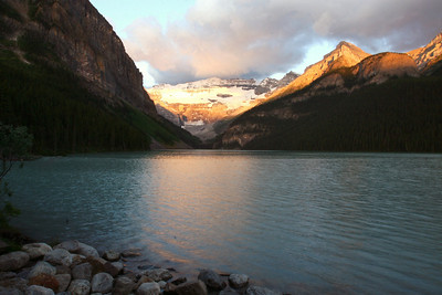 Lake Louise at Sunrise Alberta, Canada